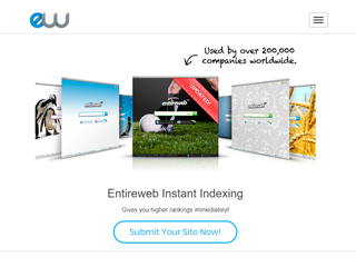 Entireweb Instant Indexing