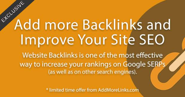 We recommend AddMoreLinks.com