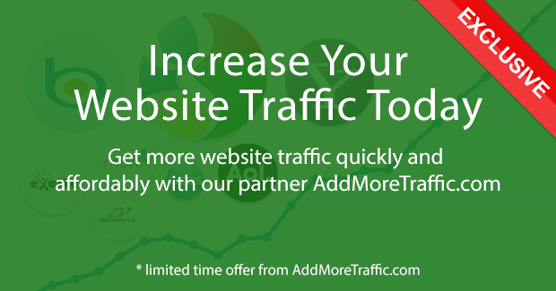 Entireweb Partner Deals - AddMoreTraffic